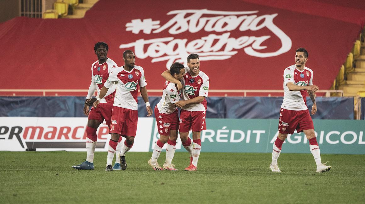 Monaco se metió por penales en cuartos de la Copa de Francia