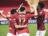 L'AS Monaco domine Rennes et continue de rêver