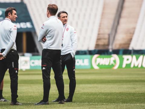 Le dernier entraînement des Rouge et Blanc avant la finale