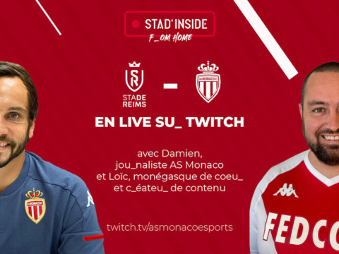 "Stad'Inside exceptionnel ""From Home"" pour Reims sur Twitch"