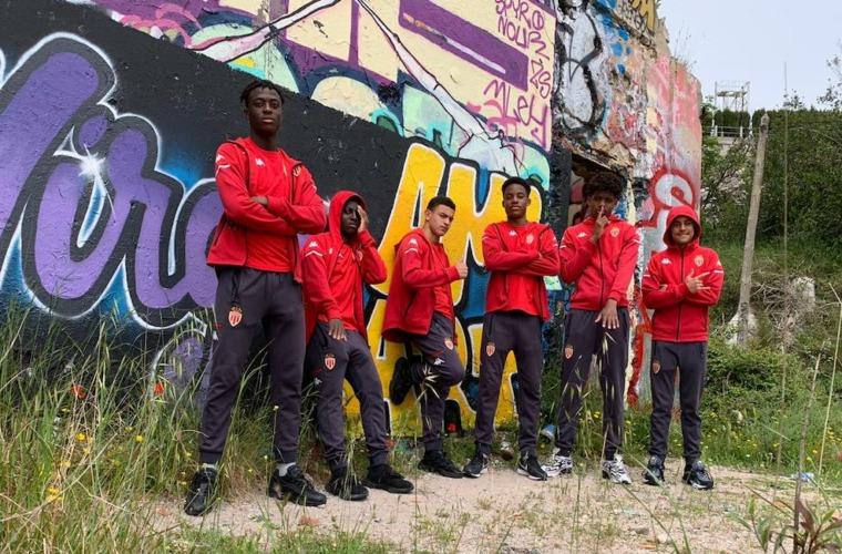 """""""La bonne compo"""", le clip de rap des U17 de l'AS Monaco"""