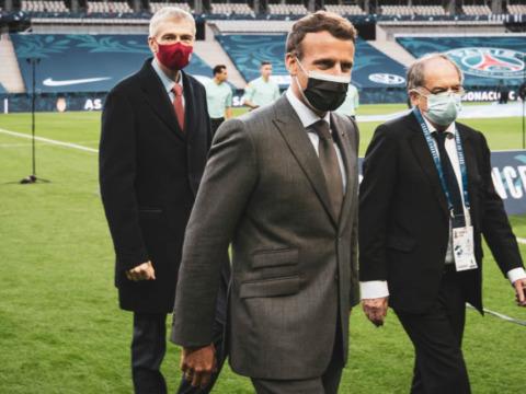 Le Président Dmitry Rybolovlev au Stade de France