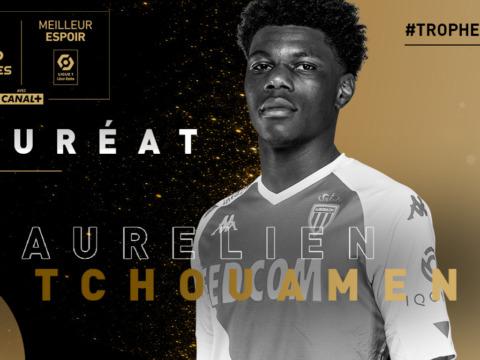 Aurélien Tchouameni named Ligue 1 Young Player of the Year