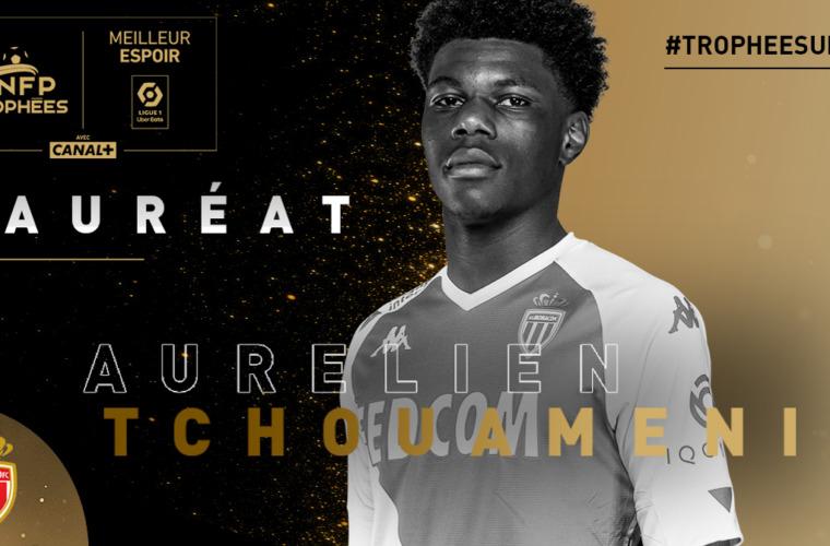 Aurélien Tchouameni eleito o melhor jovem da temporada