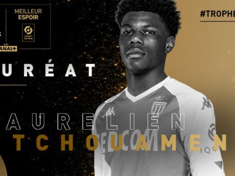 Aurélien Tchouameni élu meilleur Espoir de la saison