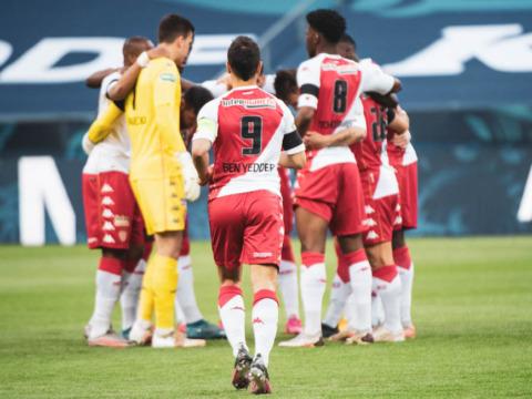 Le groupe de l'AS Monaco pour le déplacement à Lens