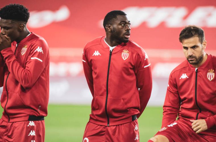 Le groupe de l'AS Monaco pour le déplacement à Reims