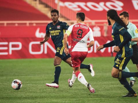 El AS Monaco cayó sobre el final ante Lyon