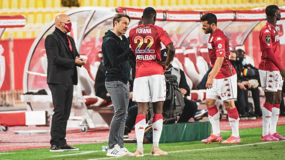 Aurélien Tchouameni, Youssouf Fofana et Niko Kovac dans L'Équipe type