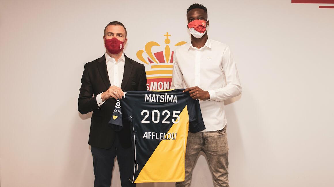 Chrislain Matsima extends his contract at AS Monaco until 2025