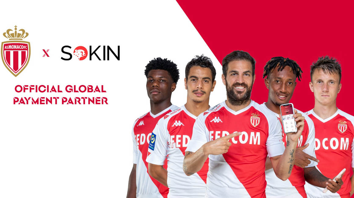 Sokin, new official partner of AS Monaco