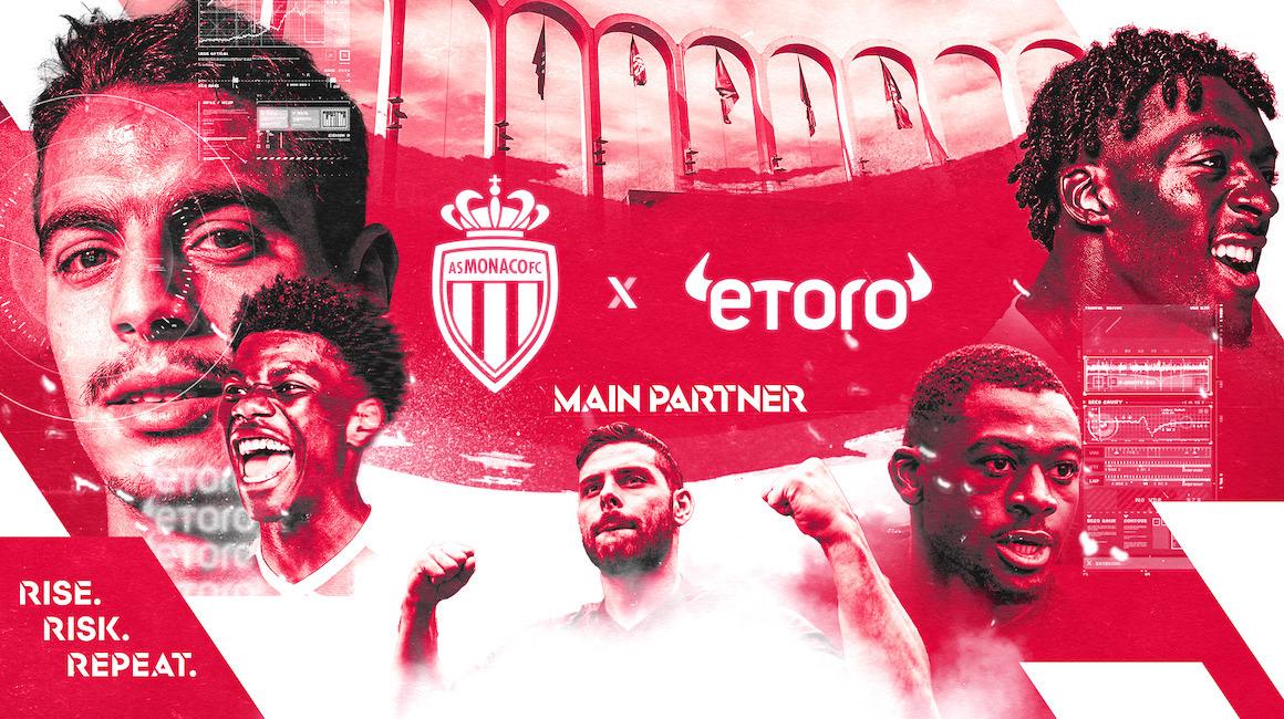 eToro becomes AS Monaco's main sponsor