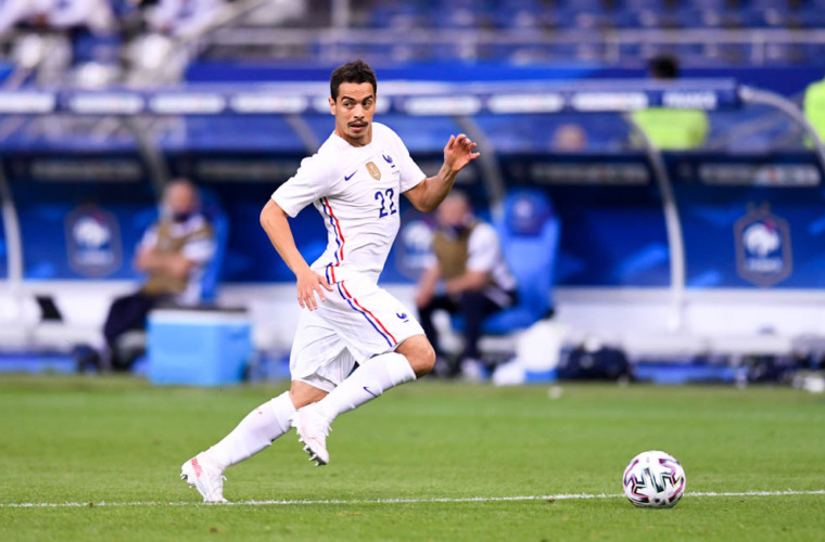Wissam Ben Yedder passeur décisif avec les Bleus