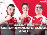 La Team PES vice-championne d'Europe 2021