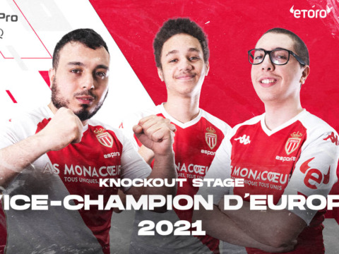 Team PES are 2021 European runners-up!