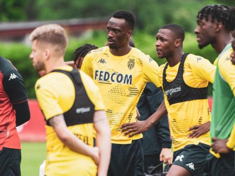 A programação antes do amistoso contra o Cercle Bruges
