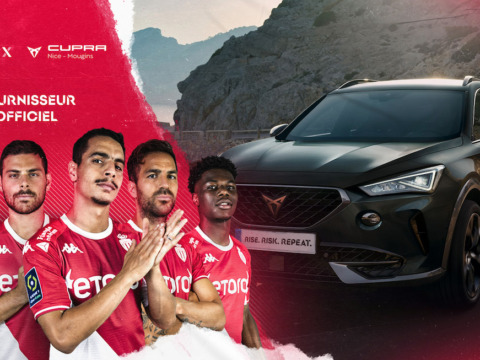 The local Cupra dealers and AS Monaco unite to share their strengths