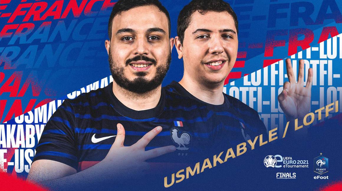Lotfi и Usmakabyle приступают к финальной части eEuro 2021