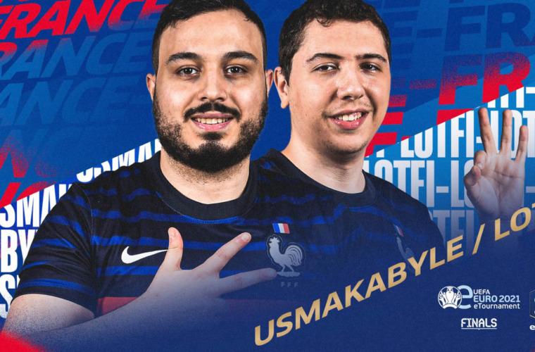Lotfi et Usmakabyle battus avec les honneurs en demi-finale de l'eEuro