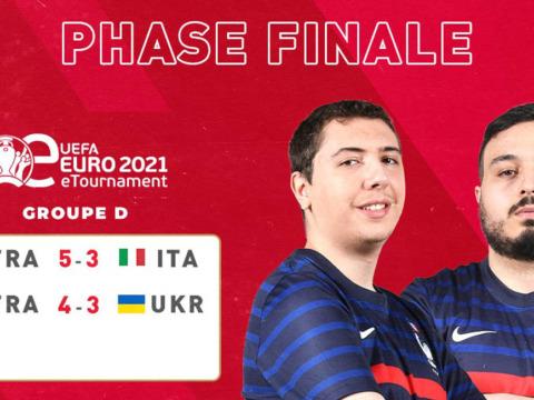 Lotfi et Usmakabyle en quarts de finale de l'eEuro 2021
