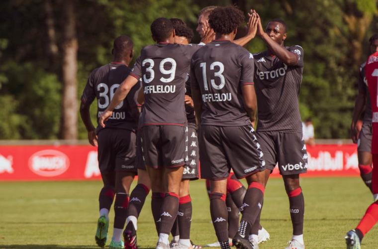 Vitória do AS Monaco em amistoso contra o Salzburg