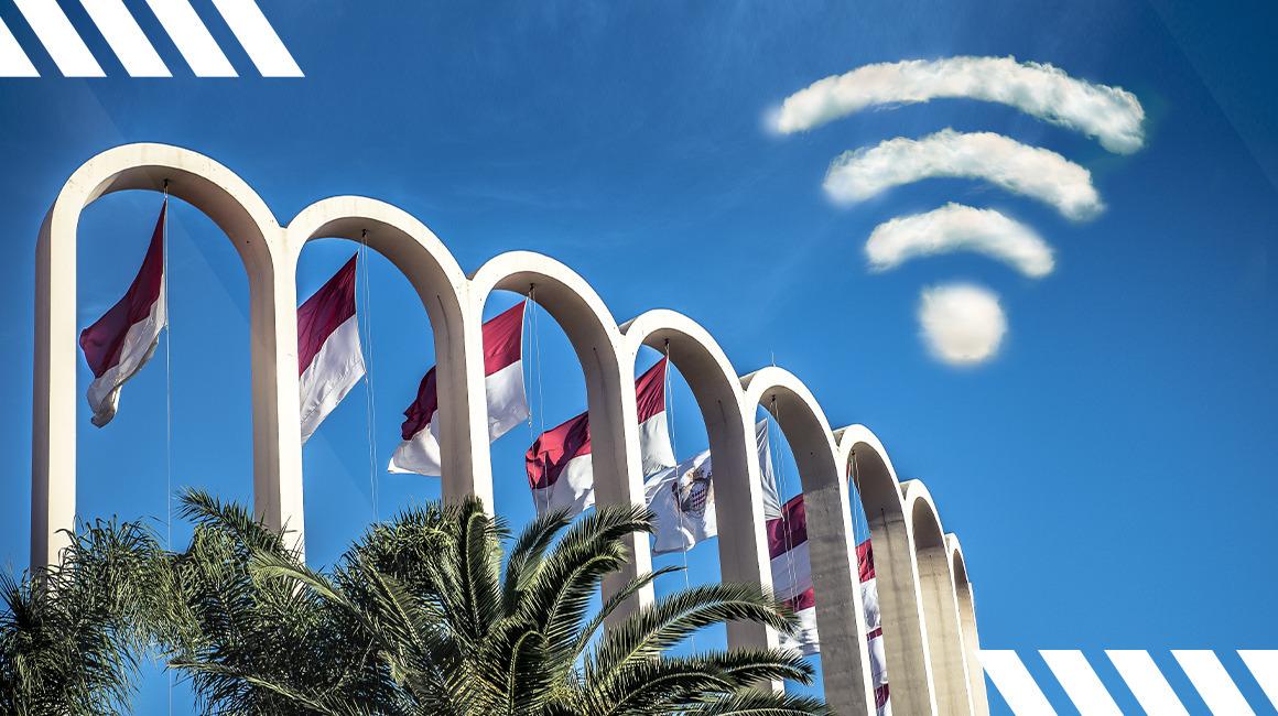 Bienvenue sur le réseau<br>AS Monaco Free WiFi
