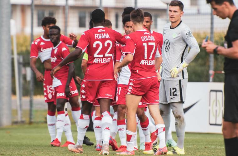 «Монако» переламывает ход встречи и одерживает победу на «Вольфсбургом»