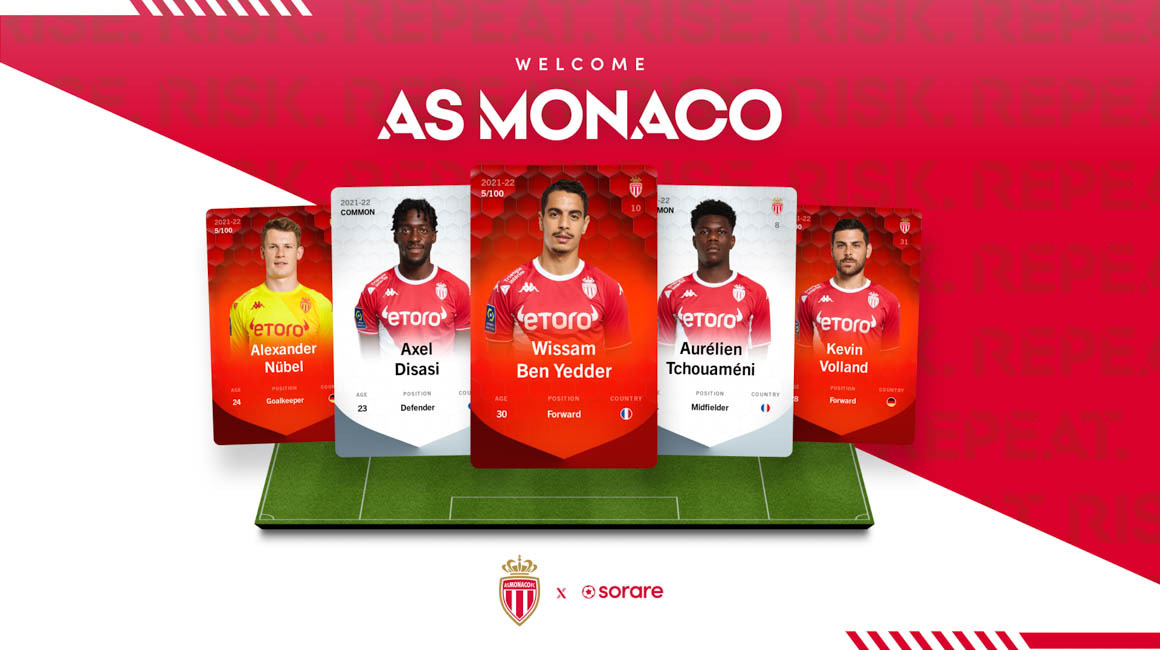 AS Monaco joins forces with Sorare