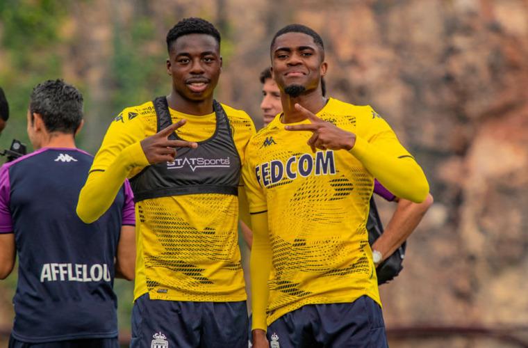 Les premiers pas à l'entraînement de Jean Lucas et Myron Boadu