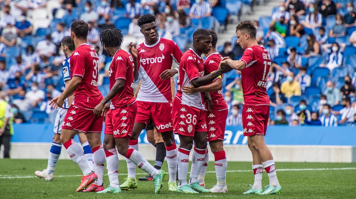 Le groupe de l'AS Monaco pour le déplacement à Prague