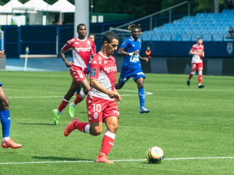 Wissam Ben Yedder a fêté sa 80e avec l'AS Monaco à Troyes