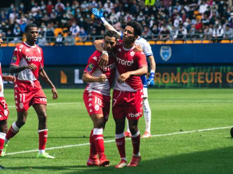 O AS Monaco recupera a confiança com os três pontos em Troyes