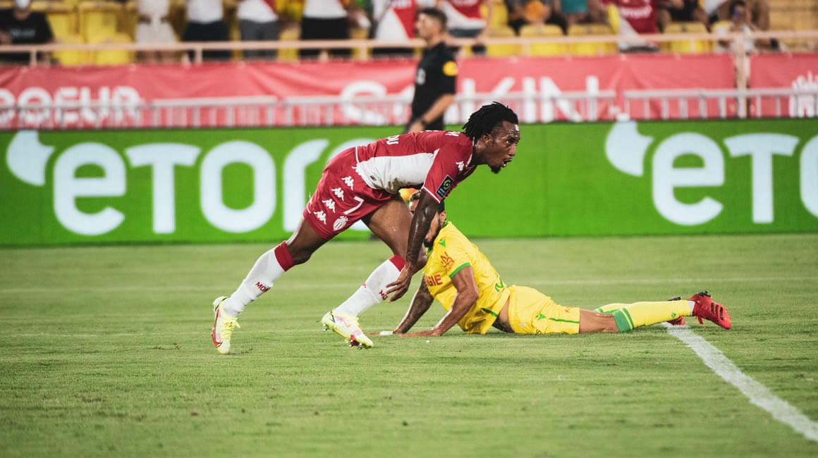 AS MONACO 1-1 FC NANTES (GELSON MARTINS)