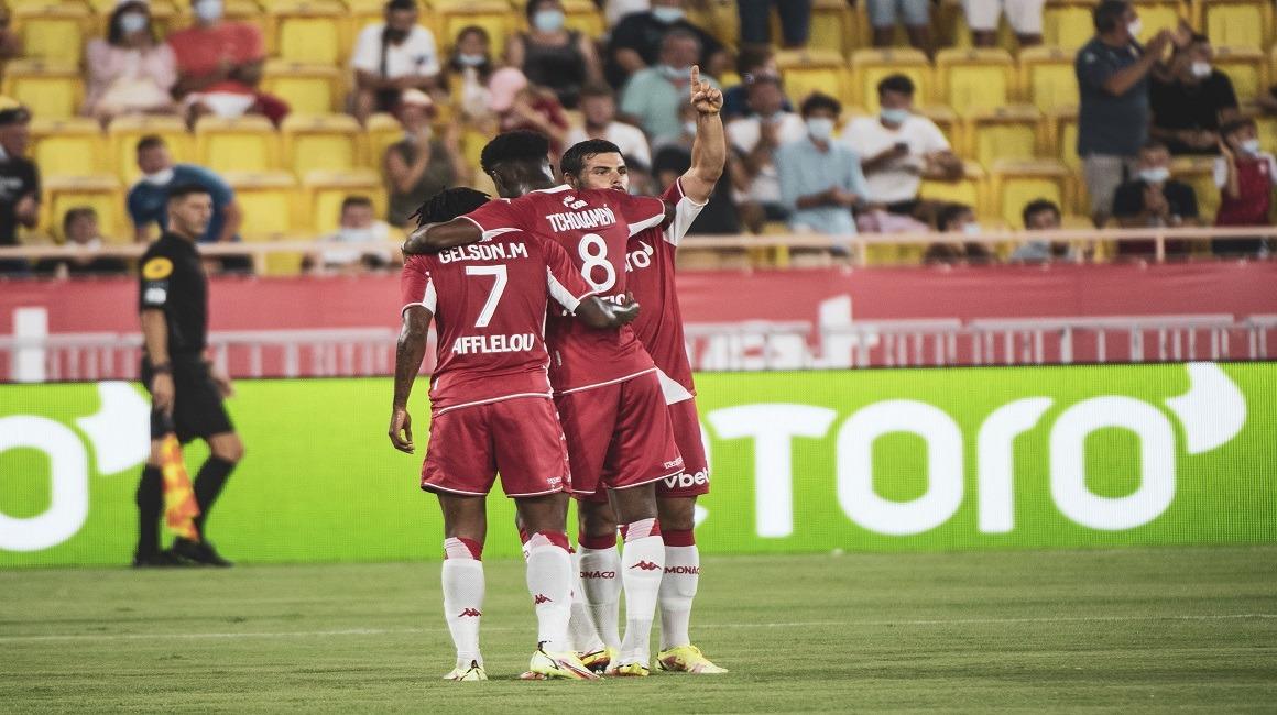 «Монако» упускает победу в матче с «Нантом»
