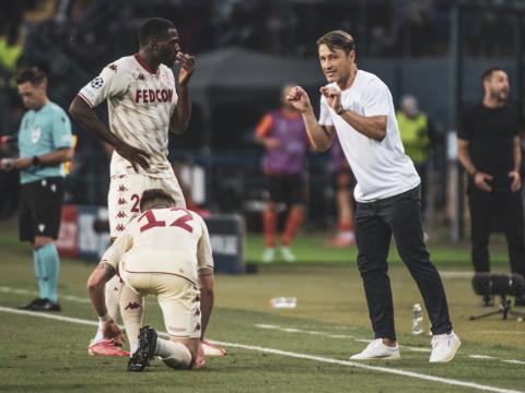As reações de Niko Kovac e Youssouf Fofana