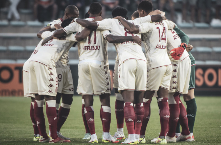 Le groupe de l'AS Monaco pour la réception du Shakhtar