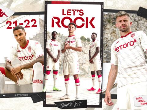 AS Monaco reveal their third kit!