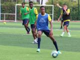Lucas Michal et Mayssam Benama en équipe de France U17