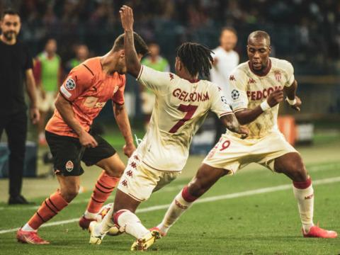 O AS Monaco sai de cabeça erguida dos playoffs da Champions