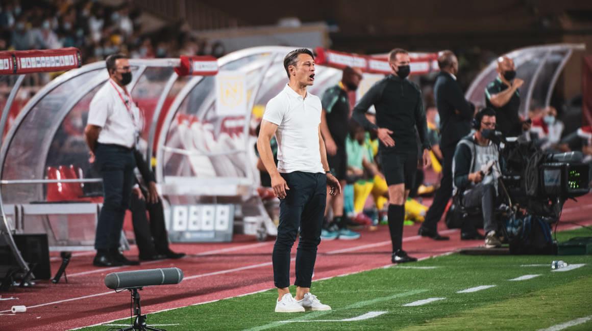 """Niko Kovac: """"Hicimos un primer tiempo muy bueno"""""""