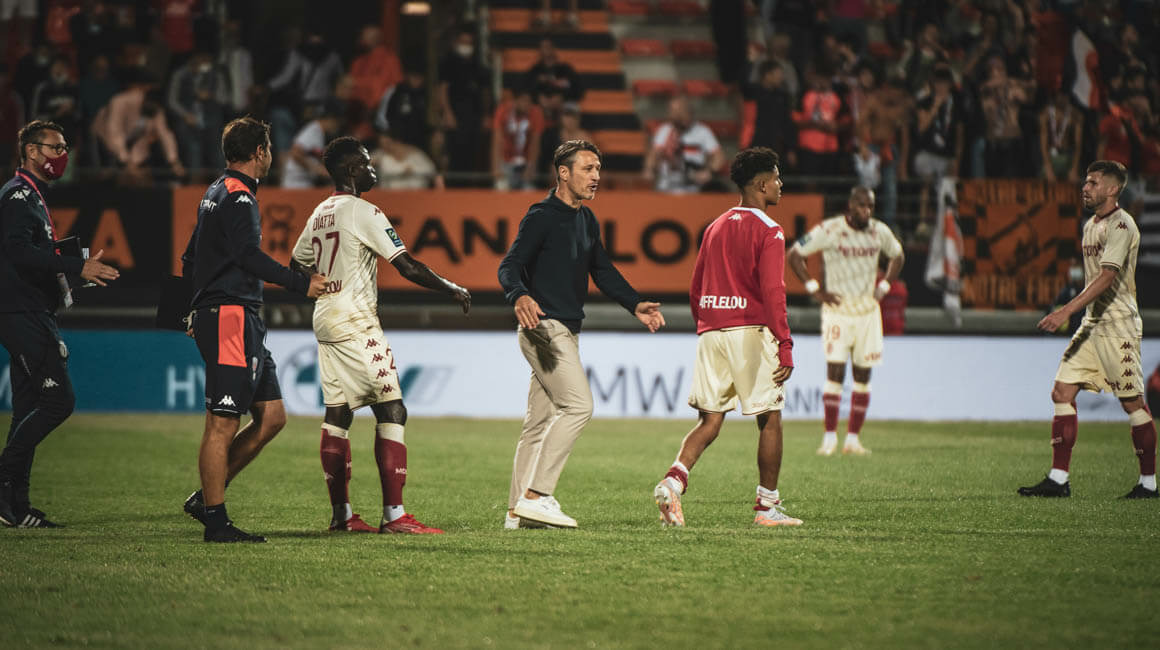The reactions of Niko Kovac and Axel Disasi after Lorient