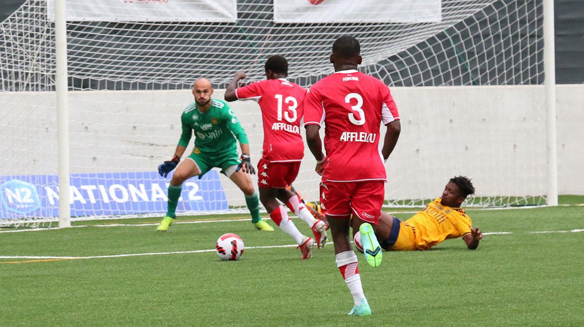 Highlights N2 – J4 : AS Monaco 0-1 Hyères FC