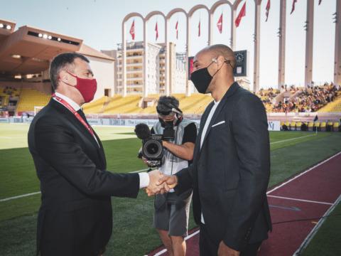 Thierry Henry de retour au Stade Louis-II