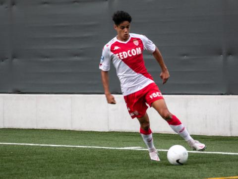 Tiago Hora Ribeiro avec les U20 portugais