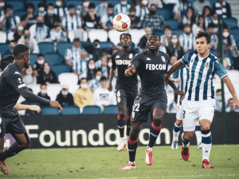 AS Monaco draw Real Sociedad to share the lead