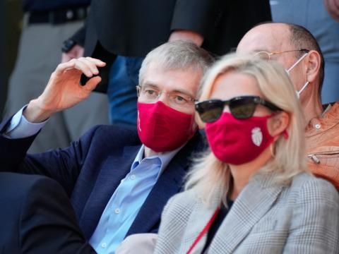 Le Président Dmitry Rybolovlev présent au Derby