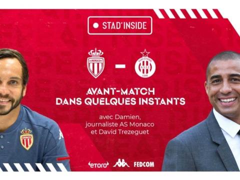 David Trezeguet invité dans Stad'Inside avant AS Monaco - Saint-Etienne
