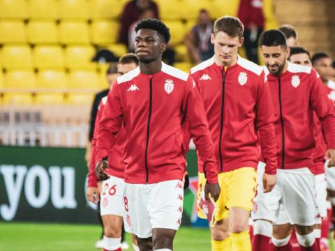 Le groupe de l'AS Monaco pour le 101e derby à Nice