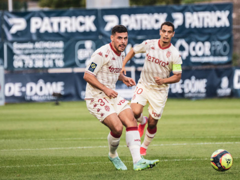 Ligue 1: Clermont Foot 63 1-3 AS Monaco