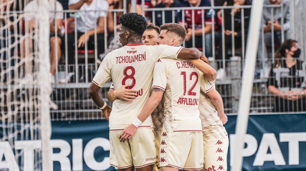 O Monaco continua sua ótima série em Clermont